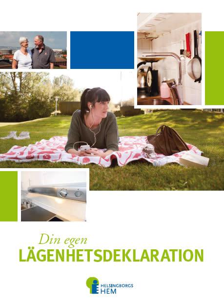 Helsingborgshems hyresgäster får egen lägenhetsdeklaration
