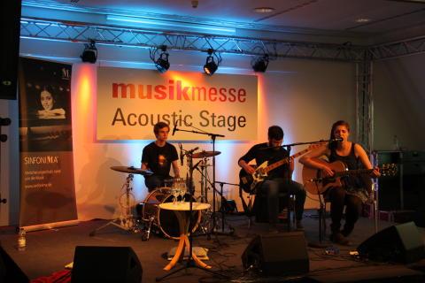Cinnamon Silence auf der Acoustic Stage, Bild 2