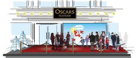 Populära snögubben Valle intar Oscarsteatern – Premiär för nytt barnprogram