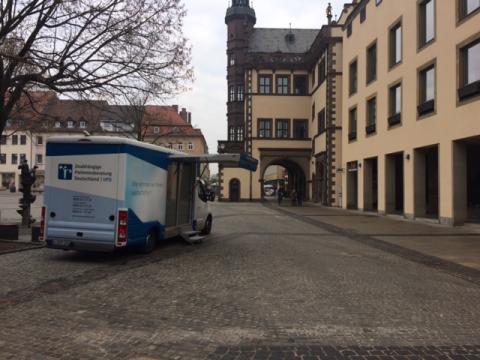 Beratungsmobil der Unabhängigen Patientenberatung kommt am 18. Mai nach Schweinfurt.