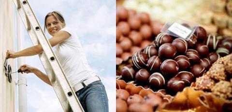 Chokladfrossa och boendetips på Stockholmsmässan
