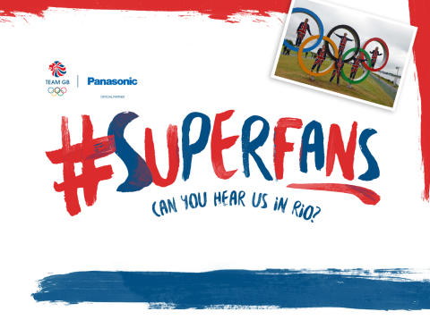 Panasonic launches 2016 Olympic campaign, Superfans, with Team GB and Amy Williams MBE