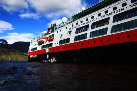 Hurtigruten til Amazonas