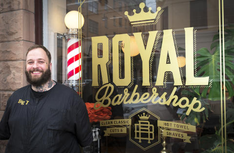 Royal Barbershop säljer Beer Beauty