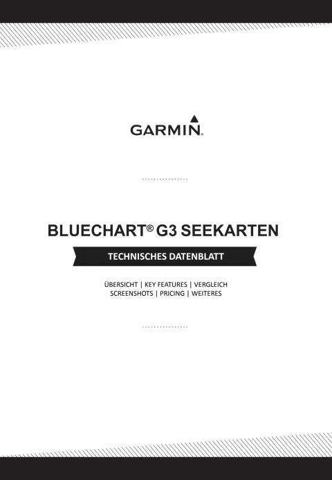 Datenblatt Garmin BlueChart G3 Seekarten