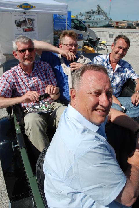 Motorhistoriska Riksförbundets baksätesdebatter i Almedalen