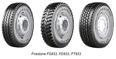 Firestonen innovatiiviset uutuudet raskaisiin ajoneuvoihin