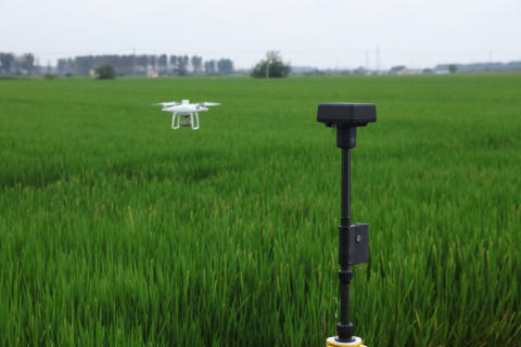 P4 Multispectral with base station