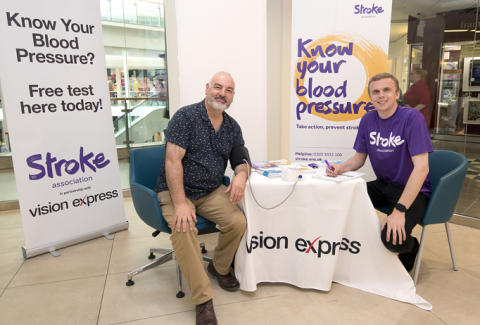 Bolton photographer tells of health scare after blood pressure check at Preston Vision Express drop-in