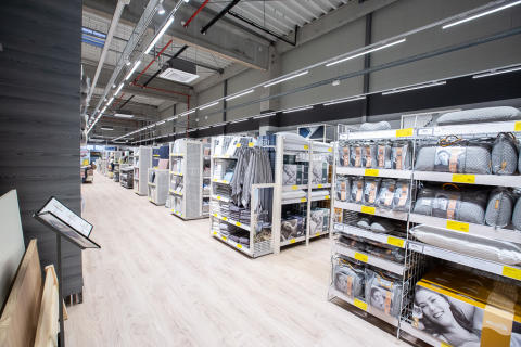Magazinul JYSK din Doraly Retail Park