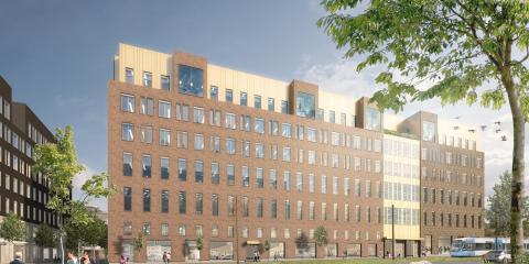 Strängbetong levererar två nya kontorsbyggnader till Atrium Ljungberg