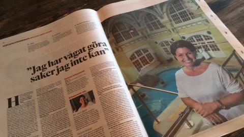 I Göteborgsposten 22 oktober 2016