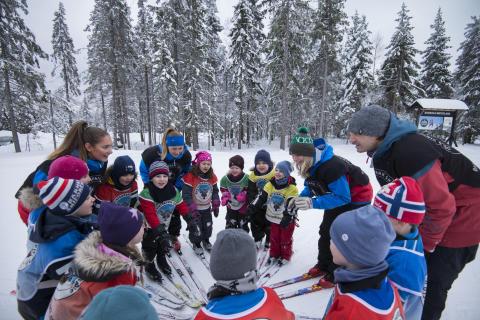 Lagånd er viktig for Skiskolen
