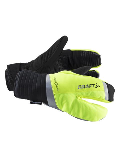 Shield split finger glove - Elnas tips för att inte frysa om fingrarna