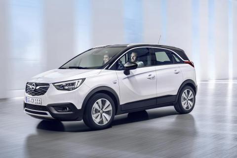 Nya Opel Crossland X: Det bästa från olika världar
