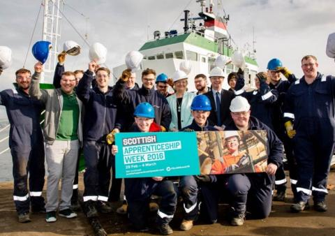 Scottish Apprenticeship Week launched