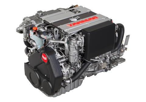 Hi-res image - YANMAR - YANMAR has launched the full 4LV series range of common rail marine diesel engines