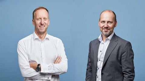 Ny ledning hos snabbväxande startup