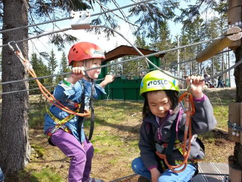 Oslo Sommerpark - klatring for de minste