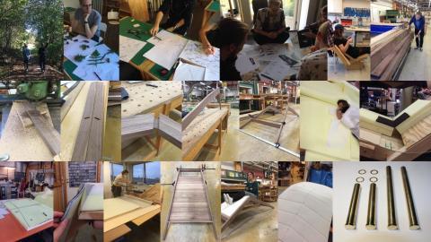 Träakademien ställer ut på Möbelmässan