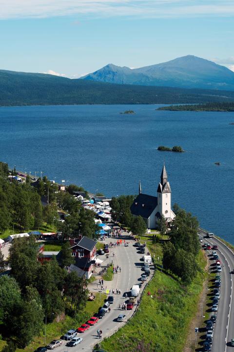 Kultursatsning på Tärnabys Gränshandelsmarknad