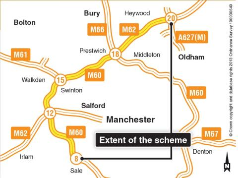Exhibition: Residents are invited to a public display about the Manchester Smart Motorway scheme