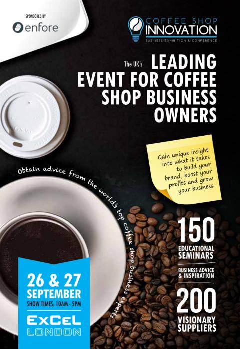 The UKs leading event for coffee shop business owner