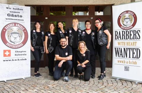 Barber Angels Schweiz - Gruppenfoto 2019