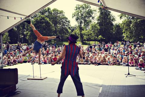 Sommarlund: Cirkus Saga drog storpublik