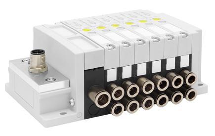 Ny ventilrampe med IO-link kommunikasjon