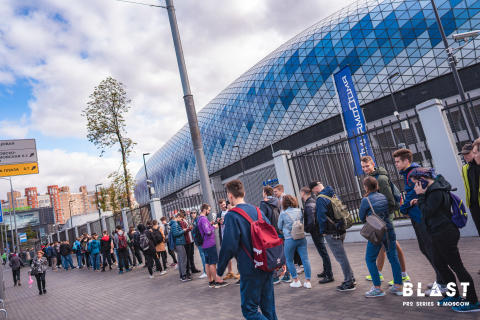 BLAST Pro Series Moscow is sold out