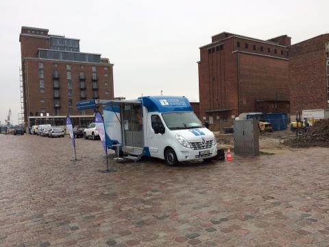 Beratungsmobil der Unabhängigen Patientenberatung kommt am 6. Juni nach Wismar.