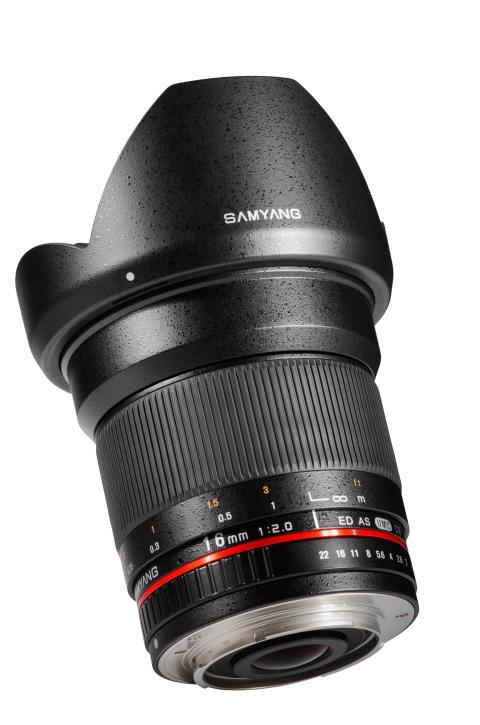 Samyang 16mm - Musta 3