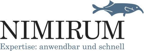 Neues Logo von NIMIRUM mit Claim
