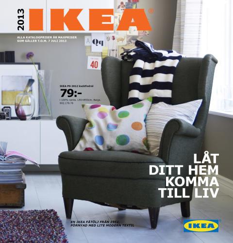 Textil och trivsel årets tema i interaktiv  IKEA katalog