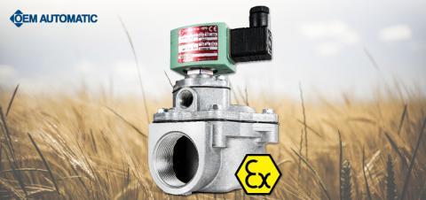 Säkerställ att ventilen uppfyller ATEX-direktiven