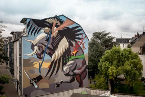 Künstlerische Denkanstöße für Städte: AkzoNobel fördert zahlreiche Kunstprojekte in NRW