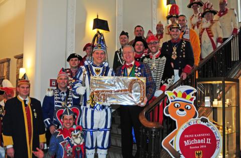 Pullman Aachen Quellenhof: Prinz Michael II. erobert die Hofburg
