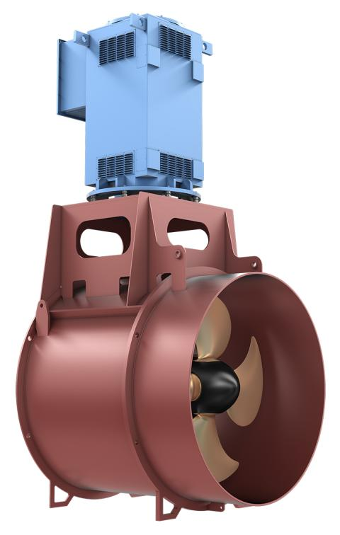 Kongsberg Maritime unveils new cost-effective tunnel thrusters for merchant sector