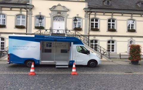 Beratungsmobil der Unabhängigen Patientenberatung kommt am 6. Juni nach Lippstadt.