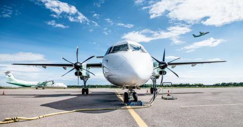 Widerøe med ny samarbeidspartner - Inngår samarbeid med Air France