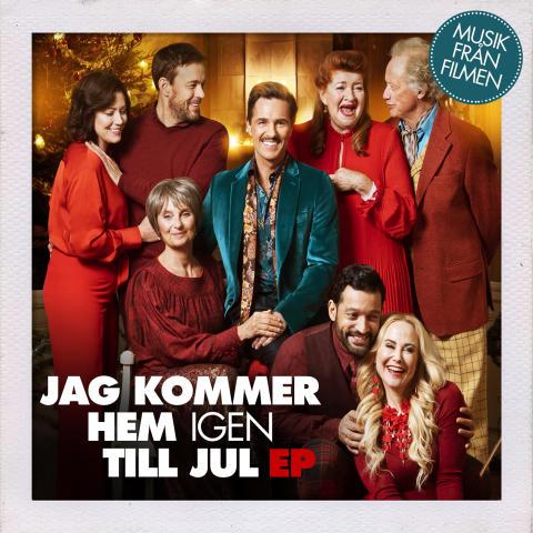 Cover art JAG KOMMER HEM IGEN TILL JUL EP