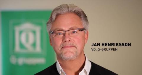 Vad är en bra dag på jobbet år 2030? Q-gruppens VD Jan Henriksson delar med sig av sina tankar