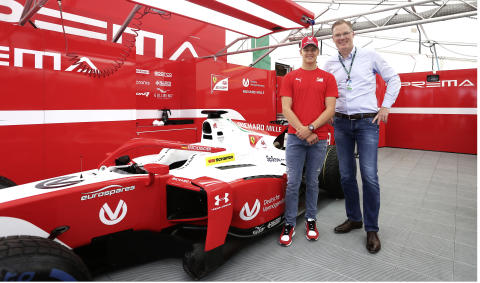 Mick Schumacher og Michael Mohr