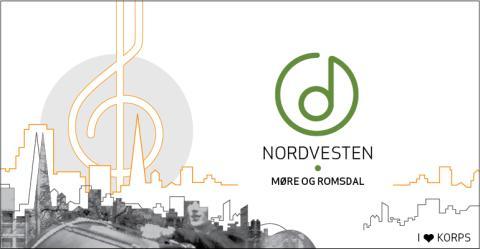 Nordvesten Møre og Romsdal 2019 for skolekorps i Brattvåg, lørdag 16. mars.