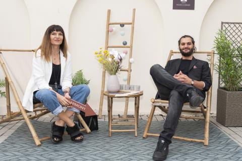 Alina Vîlcu și Omid Ghannadi la Garden Party-ul JYSK
