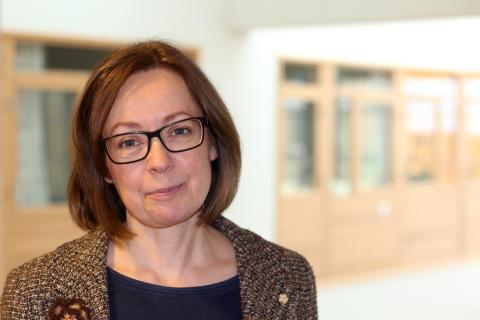Anna Swärdh, , lektor i engelska vid kulturvetenskapliga forskargruppen, KuFo.