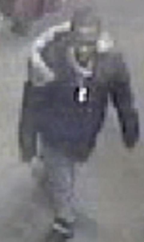 CCTV image of fourth suspect