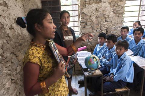 1_Classroom Nepal