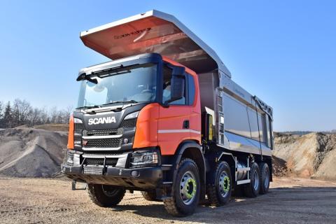 Scania G 500 XT 8x4 Muldenkipper Mining